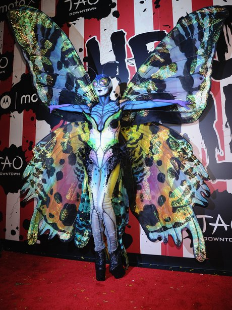 Celebs Who Go All Out For Halloween Heidi Klum