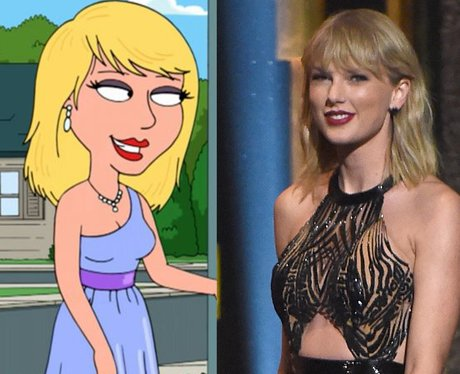 Taylor Swift in Family Guy