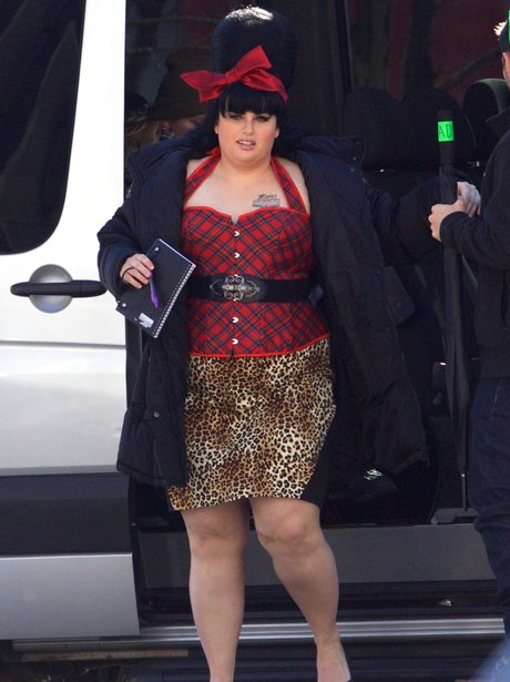 Rebel Wilson dressed as Amy Winehouse for Pitch Pe