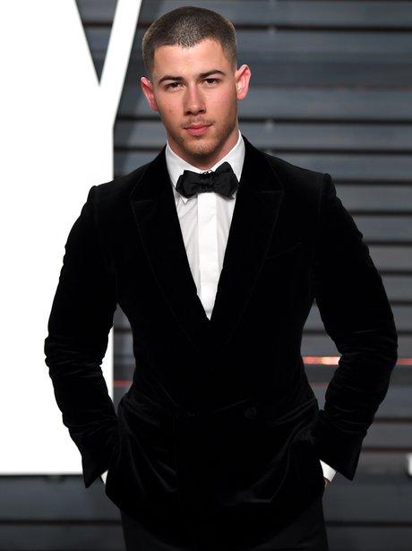 Nick Jonas at the Vanity Fair Oscar Party 2017