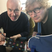 Image 4: Ed Sheeran gets his cast covered in Damien Hirst a