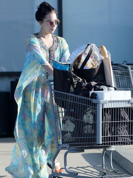 Lady Gaga for Shopping